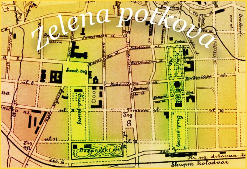 Zagreb na pragu modernog doba zelena potkova karta altavistaventures Choice Image
